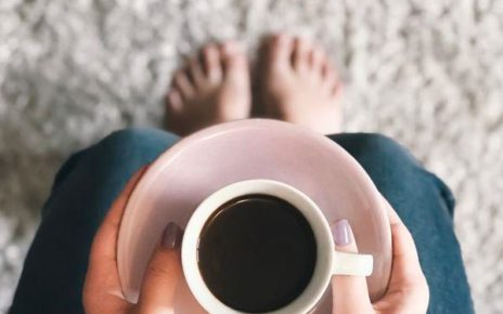 person holding cofee