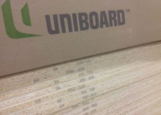Green particle board