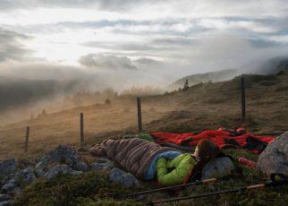 outside sleeping bag