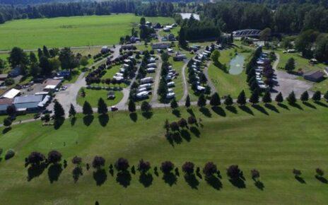 RV Park in green grass