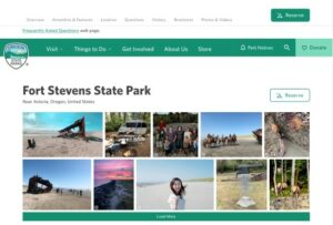 Fort Stevens website