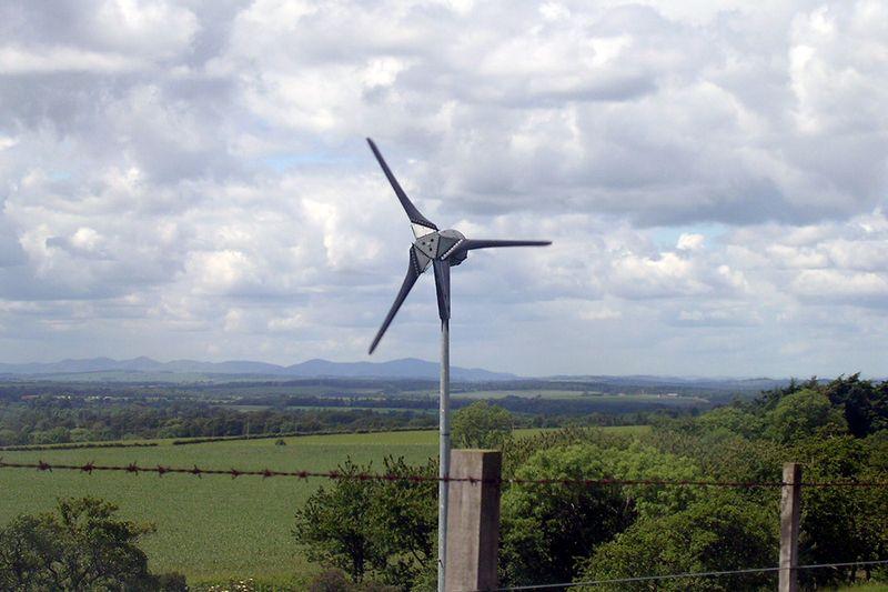 Backyard wind turbine